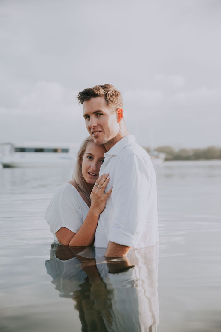 Gold Coast Wedding Photography -  Engagement Session at the beach