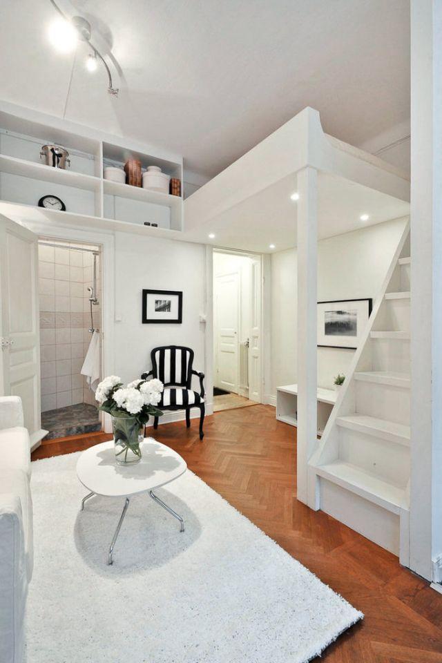 Die besten 25+ Schlafzimmer im zwischengeschoss Ideen auf - wohnideen 30 qm