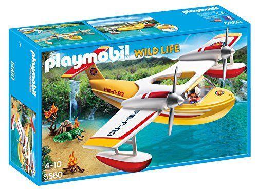 PLAYMOBIL Firefighting Seaplane Building Kit PLAYMOBIL®