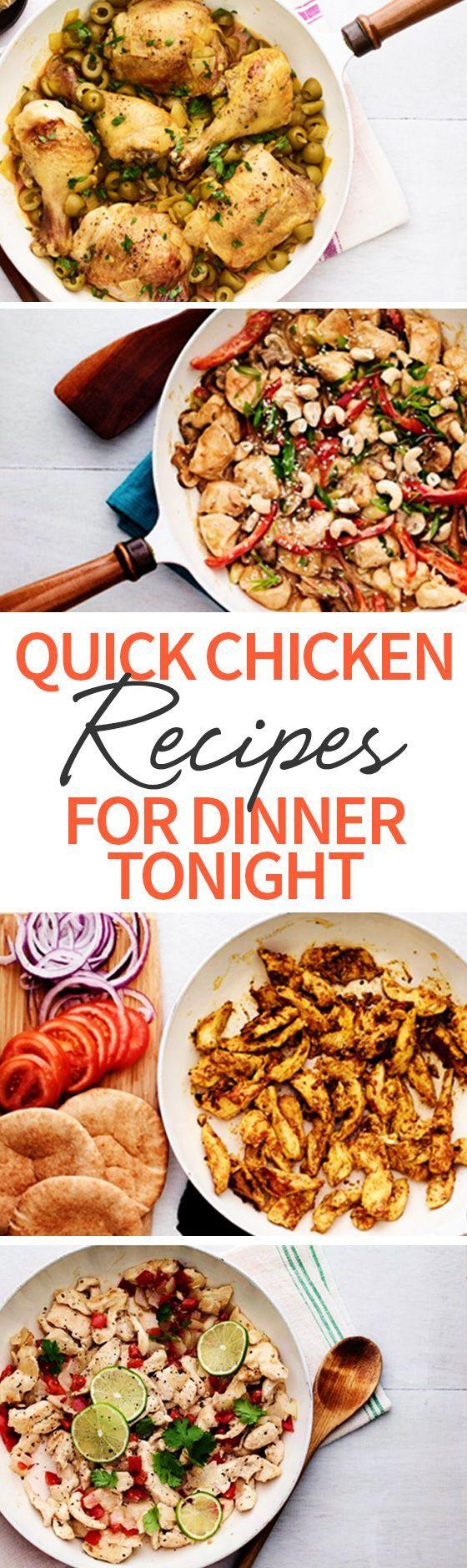 4 Möglichkeiten, Ihre Chicken Dinners wieder aufregend zu machen  #aufregend #c…