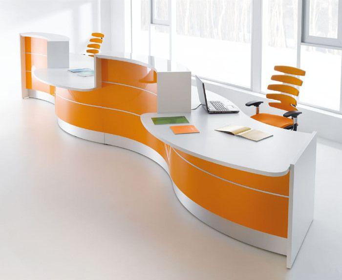 32 best Shaped Desks images on Pinterest   Bureaus, Desks and ...