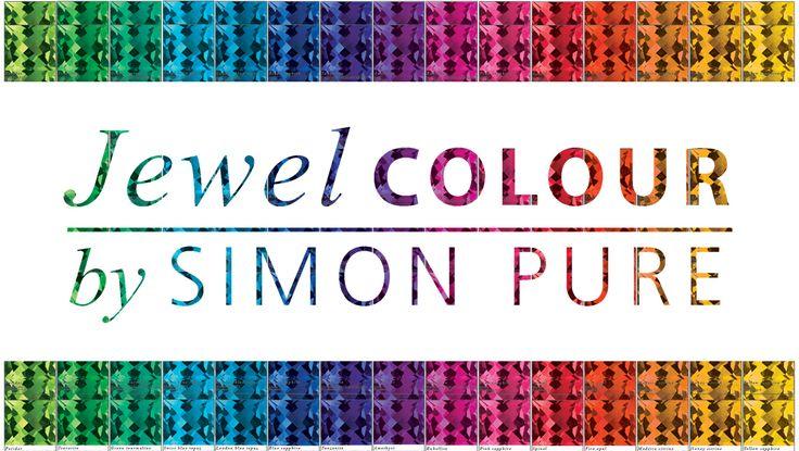 Jewel Colour by Simon Pure jewellery designer