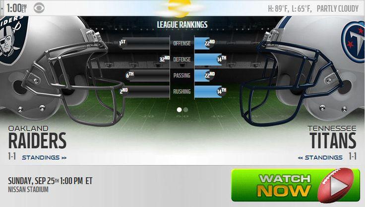 Raiders vs Titans Live Stream