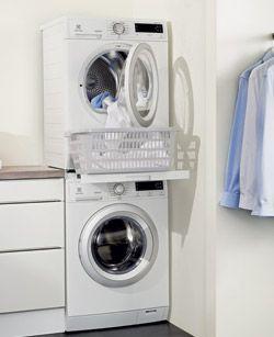 Colonne sèche-linge sur lave-linge