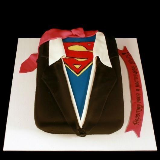 Торт супермен