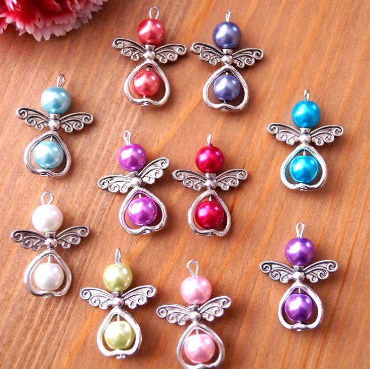 Perle Miste 10-20 Angeli, Metallo, Cuore con Ali | Orologi e gioielli, Bigiotteria, Collane e pendagli | eBay!