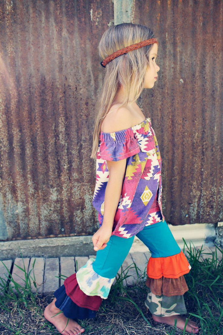 little hippie girl. *I* want this outfit!!!!