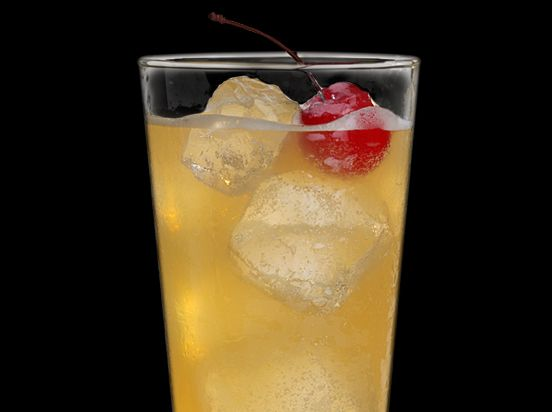 Easy breezy summer drink using lemonade and Jack Honey, a whiskey made in Lynchburg, Tennessee.