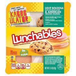 Oscar Mayer Lunchables Light Bologna & American Cracker Stackers 3.1 oz