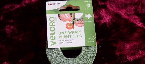 Velcro One-Wrap Plant Ties.