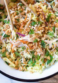 Vietnamese Cold Chicken Salad (Goi Ga) #healthy #lowcarb #paleo