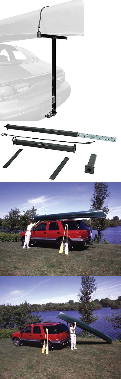 Other Kayak Canoe and Rafting 36123: Canoe Kayak Mount Loader Rack One Person Man Car Trailer Hitch Truck Suv Parts -> BUY IT NOW ONLY: $74.99 on eBay!