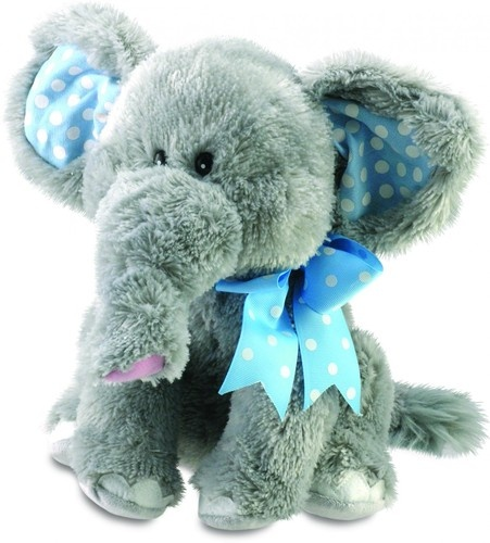 """Cuddle Barn 12"""" Elliot Animated Plush Elephant Toy Sings Do Your Ears Hang Low $28.00 Sold at Baby Family Gifts Ebay"""