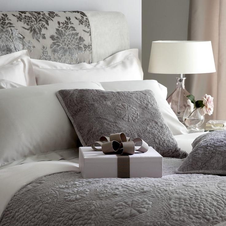 Elegant Pale Grey Bedding Set Http Www Worldstores Co