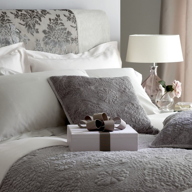 Elegant Pale Grey Bedding Set Http Www Worldstores Co