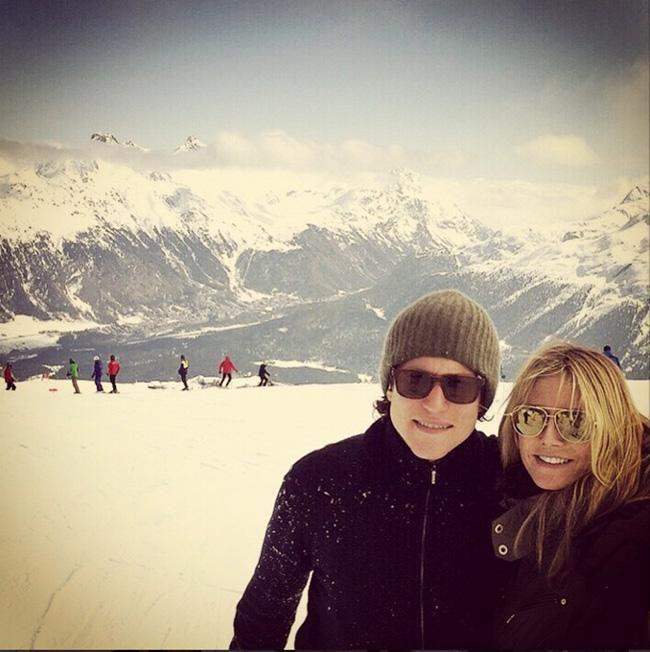 Heidi Klum: Verliebt im Ski-Urlaub mit Vito Schnabel | IN.de