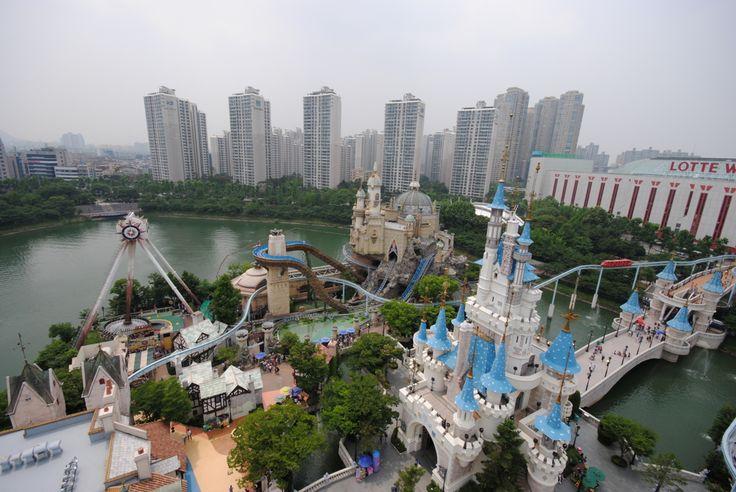 Lotte World - Seoul, South Korea.