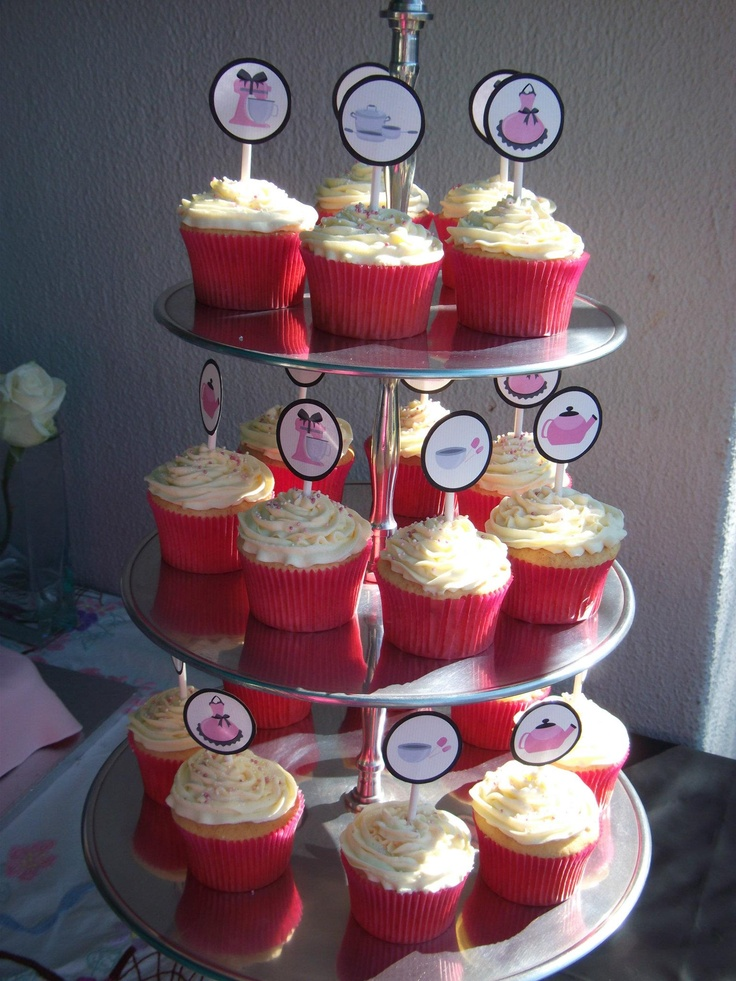 Beautiful Cupcakes made by Sweet Expressions