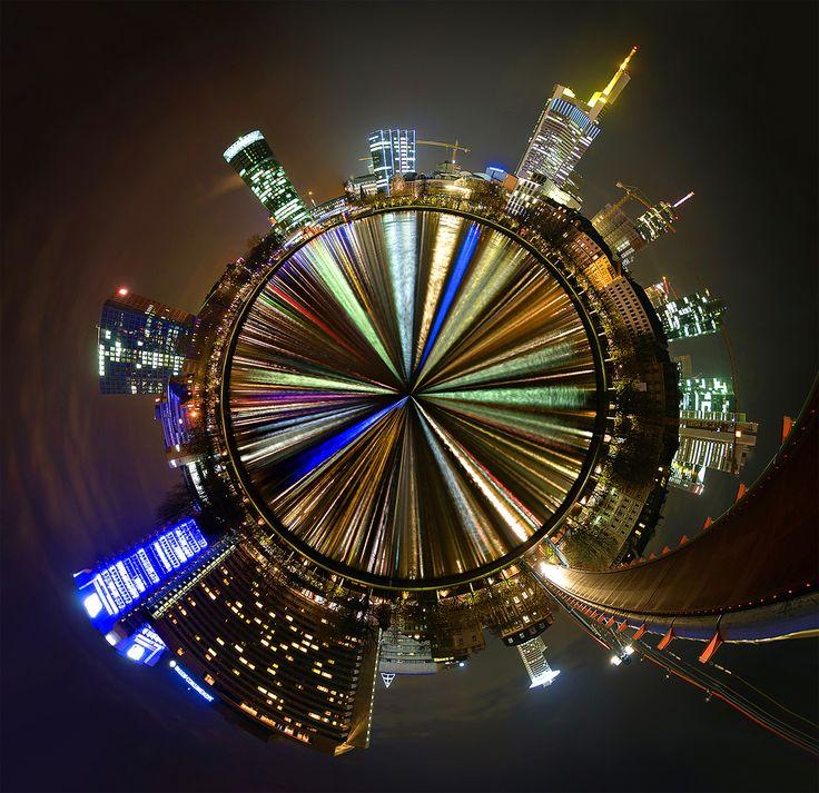 https://flic.kr/p/6Pw3Eg | Planet Frankfurt | The Planet of this Pano  Meet me on Facebook