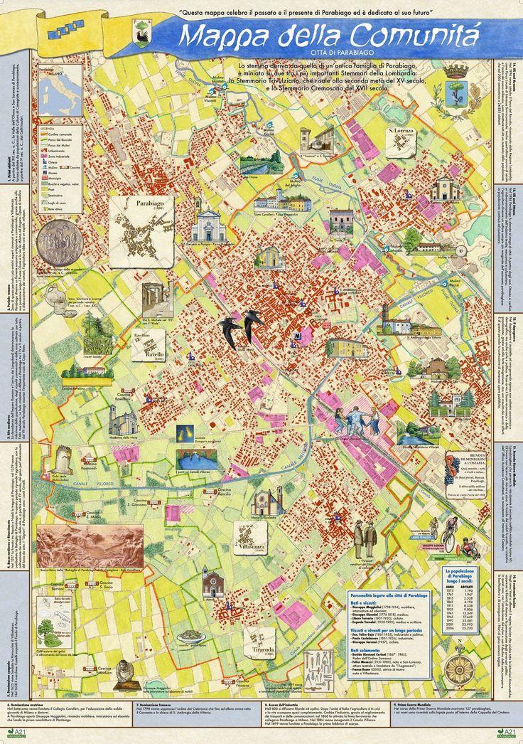 > Mappa di Comunità di Parabiago (Mi)