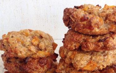 galletas de melocotón