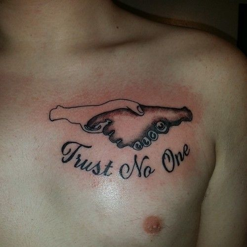 Trust No One Quotes Tattoo: 35 Best Fear Tattoo Quotes Images On Pinterest