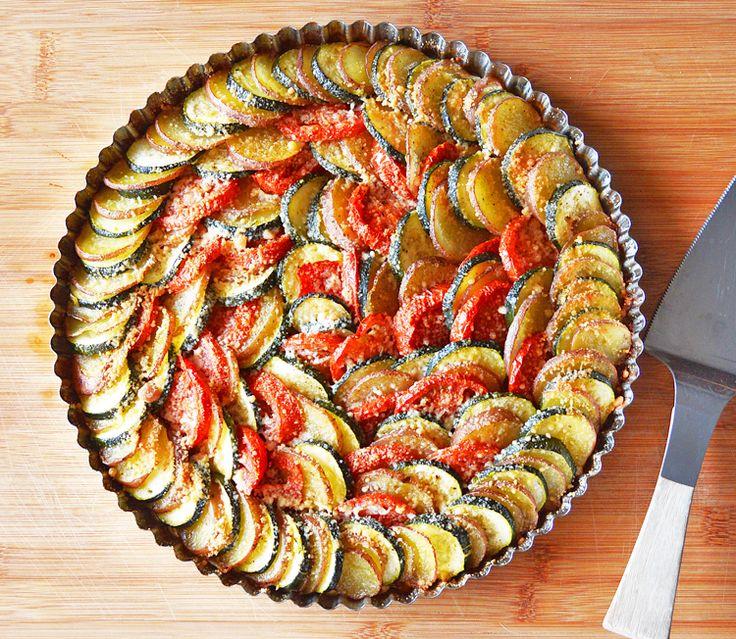 Vegan Holidays: Vegan Zucchini, Potato and Tomato Casserole