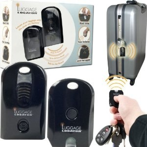 Never lose your luggage again with this gadget.  Great gift for him or the person who has everything.  Trademark Global 72-48871 Eta Travel Gear Remote Controlled Luggage Locator