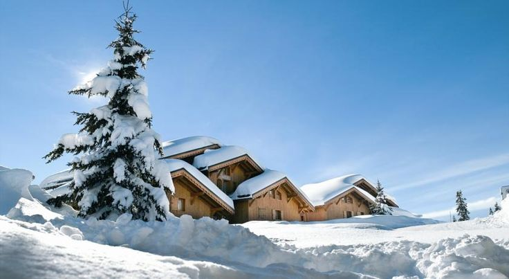 CGH Résidences & Spas Le Hameau Du Beaufortain Hauteluce There are 6 chalets situated next to a chairlift and amongst trees, 2 km from the resort centre.  From the apartment balconies there are stunning views of Mont Blanc.