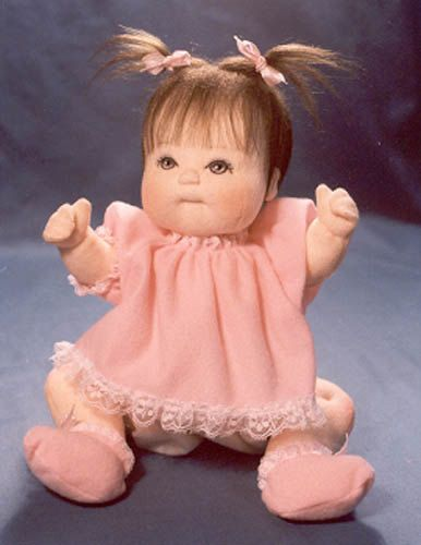 PDF Baby Doll Sewing Pattern 12 inch DAWN Jointed Cloth Girl with Clothes. $8.00, via Etsy.