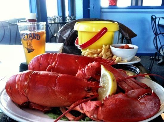 Lobster Cove Restaurant York Beach Maine Had A Terrific Dinner 07 12