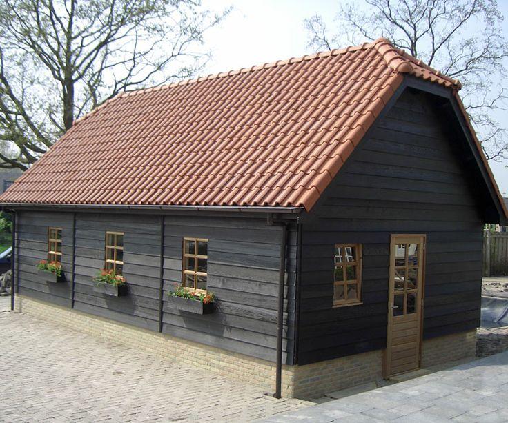Royale Houten Garage Schuur Lisserbroek