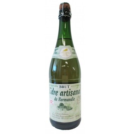 Fournier Freres Dry Apple Cider Normandy 4.5% 750ml