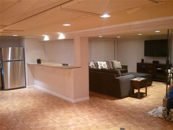 Lovely Michigan Basement Remodeling