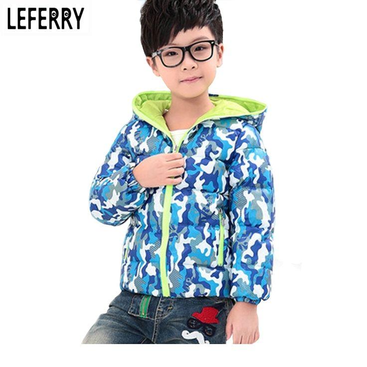 14.07$  Buy now - http://aliaur.shopchina.info/go.php?t=32670475200 - 2017 New Fashion Children Winter Outwear Kids Clothes Boy Jacket Down Winter Coats Warn Girls Jackets Hooded Boys Coats  #buyonline