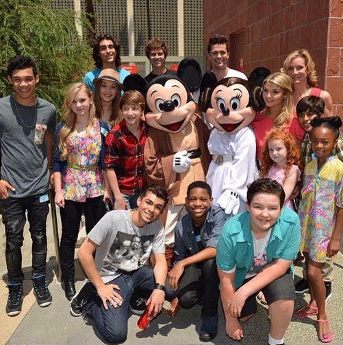 Whole Disney and Disney XD stars