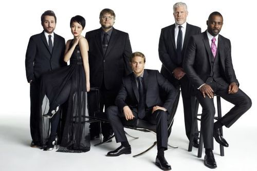 Pacific Rim cast (minus a few really important people).