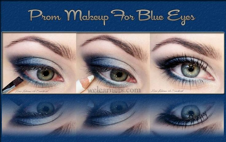 Prom Makeup 2013-2014 For Blue Eyes Tutorial | Prom makeup ...