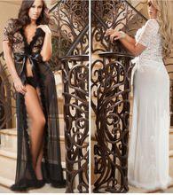 Black Transparent Woman Underwear Sexy Lingerie Nightwear Sleepwear Long Gown Dress Best Seller follow this link http://shopingayo.space