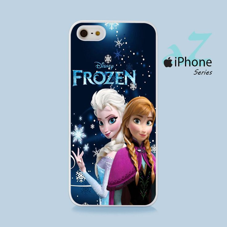 Frozen Elsa & Anna Phone Case | Apple iPhone 4/4s 5/5s 5c 6/6s 6/6s Plus Samsung Galaxy S3 S4 S5 S6 S6 Edge S7 S7 Edge Samsung Galaxy Note 3 4 5 Hard Case
