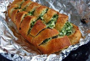 Батон с сыром и чесноком | Кулинарные Рецепты
