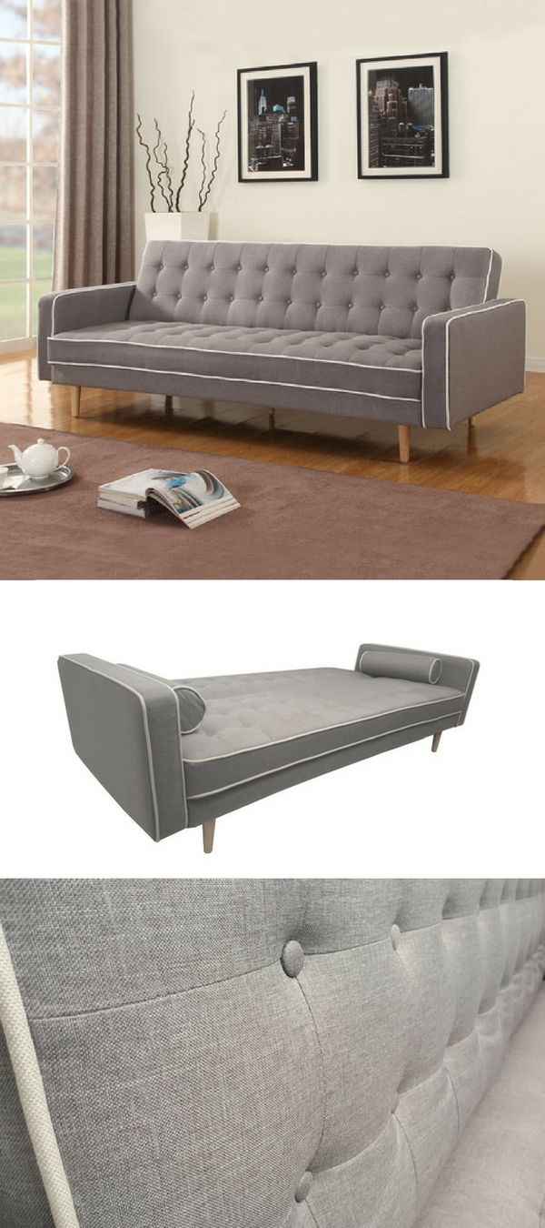 Check out the 2 Tone Mid-century Sleeper Sofa @istandardesign