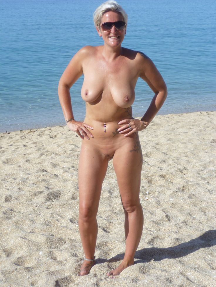 Beach girls nude Greece