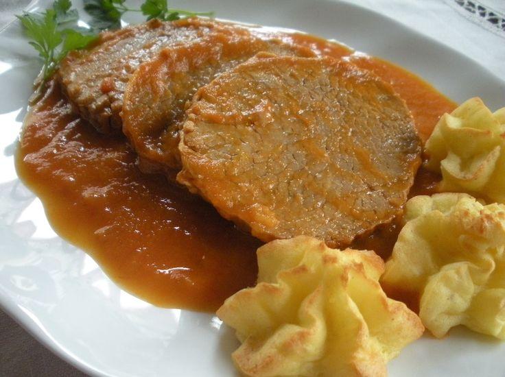 El redondo de #ternera es una comida riquísima y está #Receta es muy fácil de hacer. Ideal para dejarlo hecho de un día para otro o para dejar la #comida hecha para dos días.