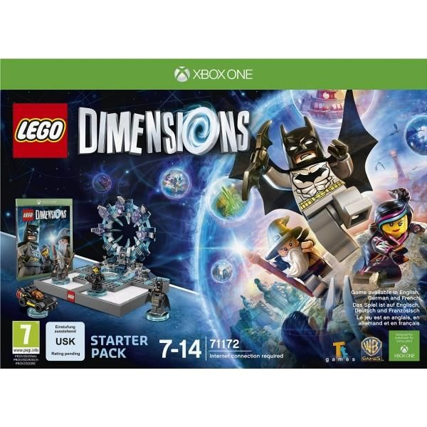 Lego Dimensions Xbox One Starter Pack | http://gamesactions.com shares #new #latest #videogames #games for #pc #psp #ps3 #wii #xbox #nintendo #3ds
