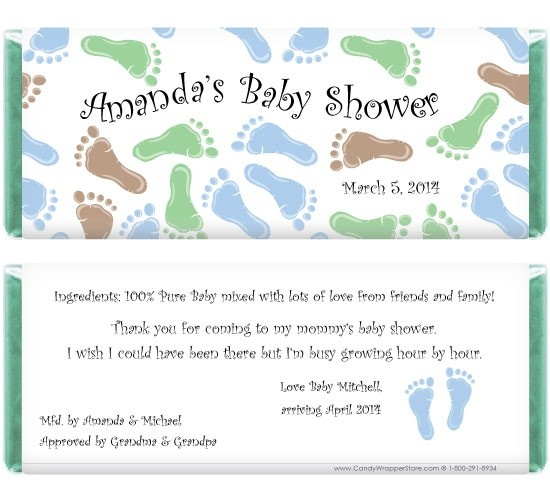 23 best Baby Shower Favors images on Pinterest Candy bar - candy bar wrapper template