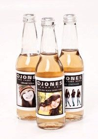 Personalized Jones soda! Amazing! Post Family photography client gift, or wedding client gift.