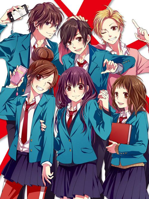 # honeyworks # kawaii ♥♥... Yuu, Haruki, Souta I LOVE their songs!!!