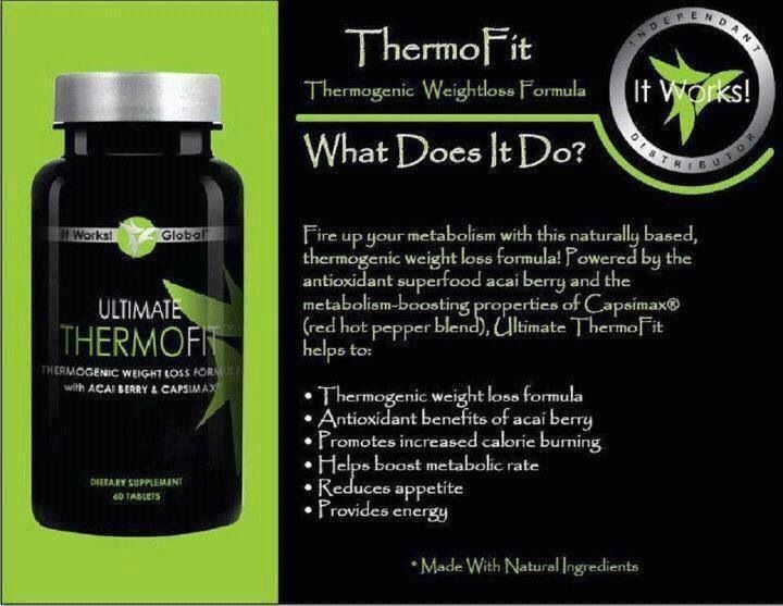 Burn up to 840 calories a DAY with Thermofit! An It Works product.  www.brandiscrazywrapthing.com