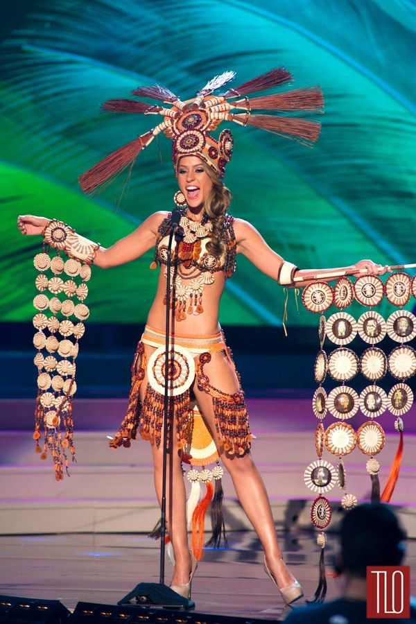 Miss Universe National Costumes 2014, Part 3: Warriors, Goddesses & Queens! | Tom & Lorenzo Fabulous & Opinionated / Miss Ecuador